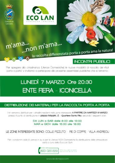 PROSSIMO INCONTRO PUBBLICO – LUNEDI' 7 MARZO ORE 20:30 PRESSO L'ENTE FIERA DI LANCIANO